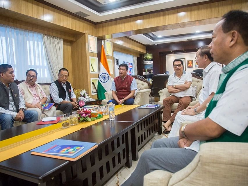 Arunachal CM Pema Khandu seeks suggestions from all non-BJP MLAs