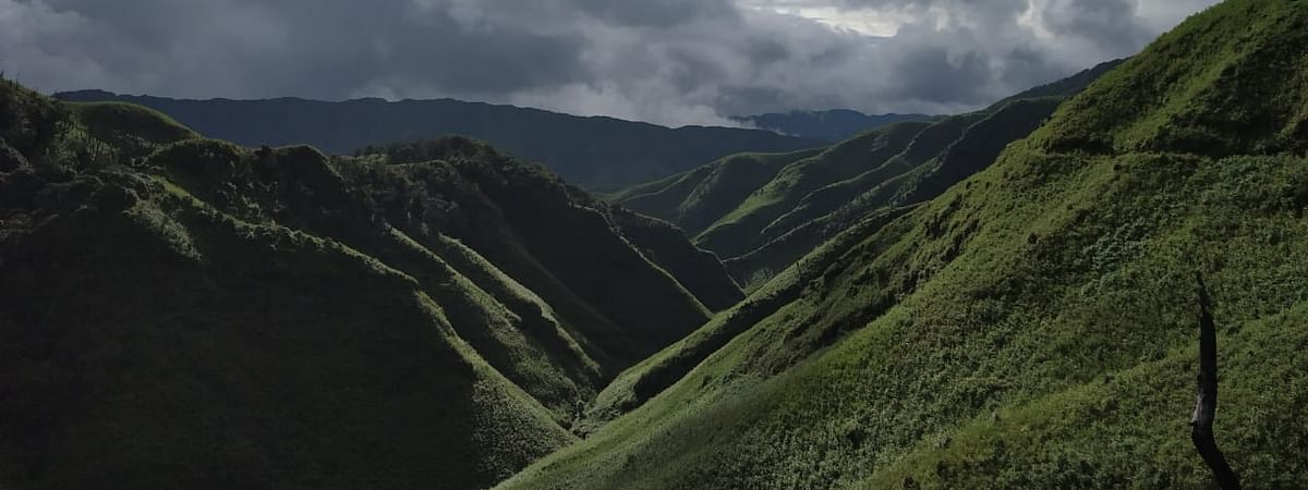 Situated 2,452 mt above sea level, Dzukou Valley is the most visited tourist destination in Nagaland
