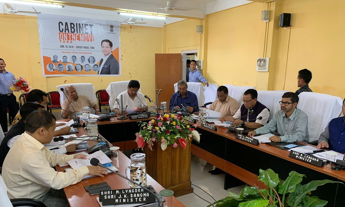Meghalaya CM Sangma holds 1st cabinet meet outside capital in Tura