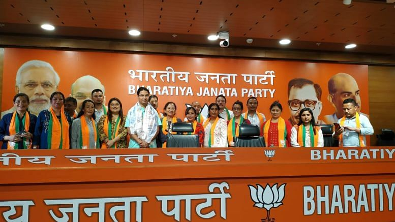 17 Darjeeling Municipality councillors had joined the BJP recently