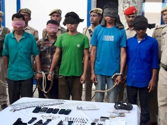 Assam: 7 KPLT rebels held from Dima Hasao, Karbi Anglong districts