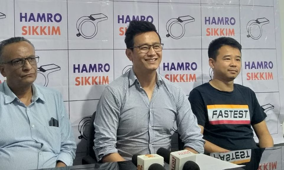 Bhaichung Bhutia's Hamro Sikkim Party lends support to ruling SKM