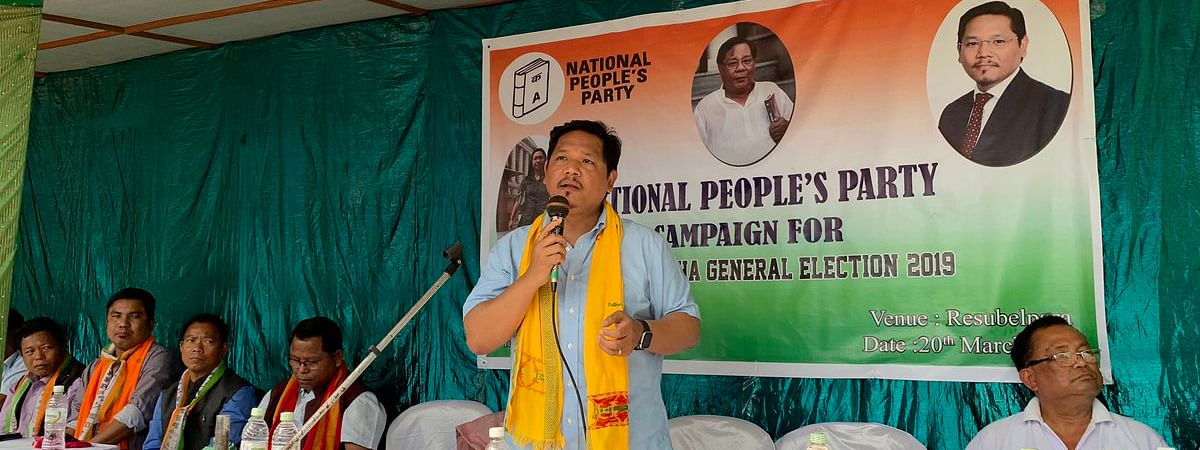 Meghalaya CM and National People's Party president Conrad K Sangma