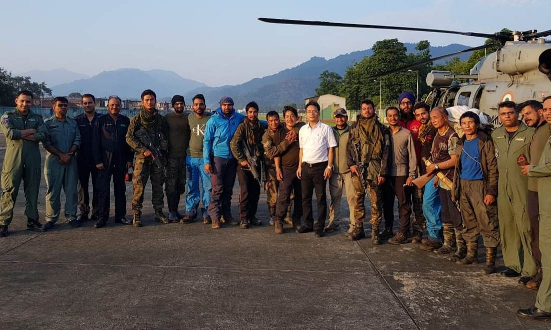 AN-32 crash: 18 days on, stranded Arunachal rescue team evacuated