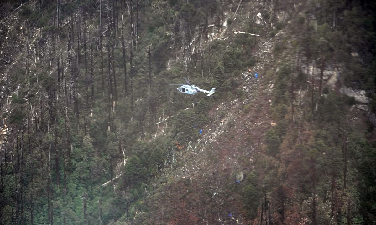 PHOTOS: Efforts on to bring mortal remains from AN-32 crash site