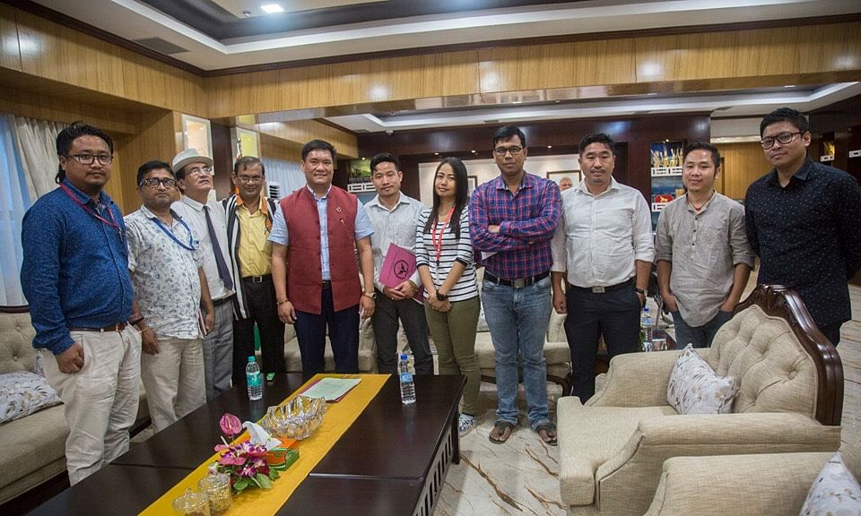 Arunachal CM assures pension scheme for working journalists