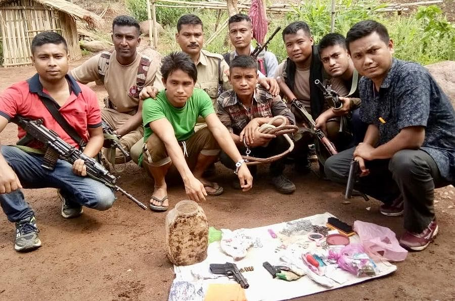 The key members of the KPLT were arrested after over 15 days of a joint operation conducted by the police forces of Dima Hasao and Karbi Anglong districts