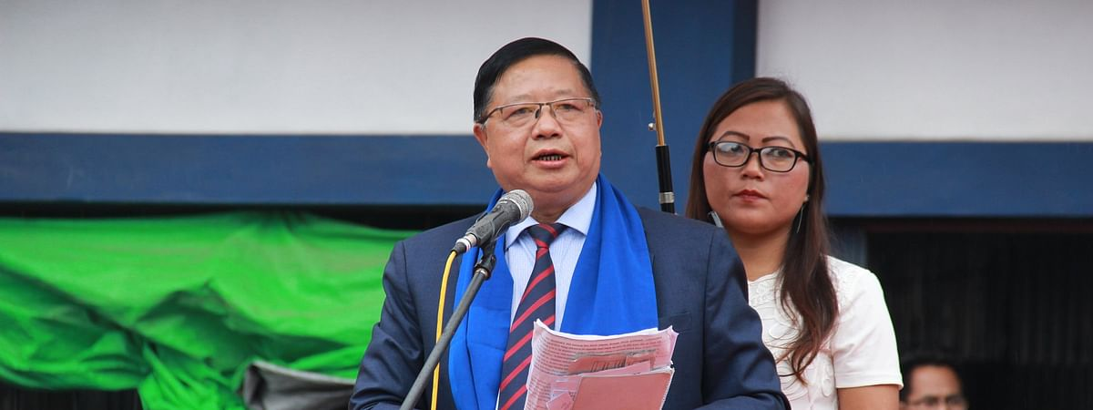 Mizoram technical education and health minister Dr R Lalthangliana
