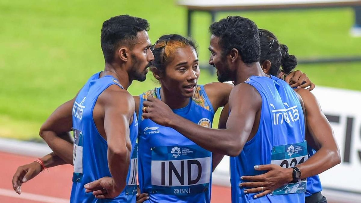 India had got a silver medal in the 4x400 mixed relay race at Asian Games 2018