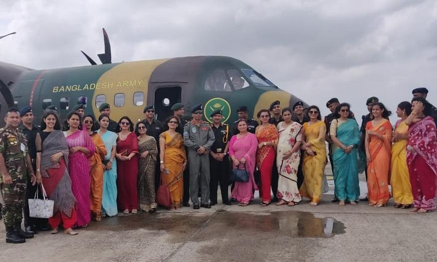 15 mid-level Indian Army officers, spouses visit Bangladesh