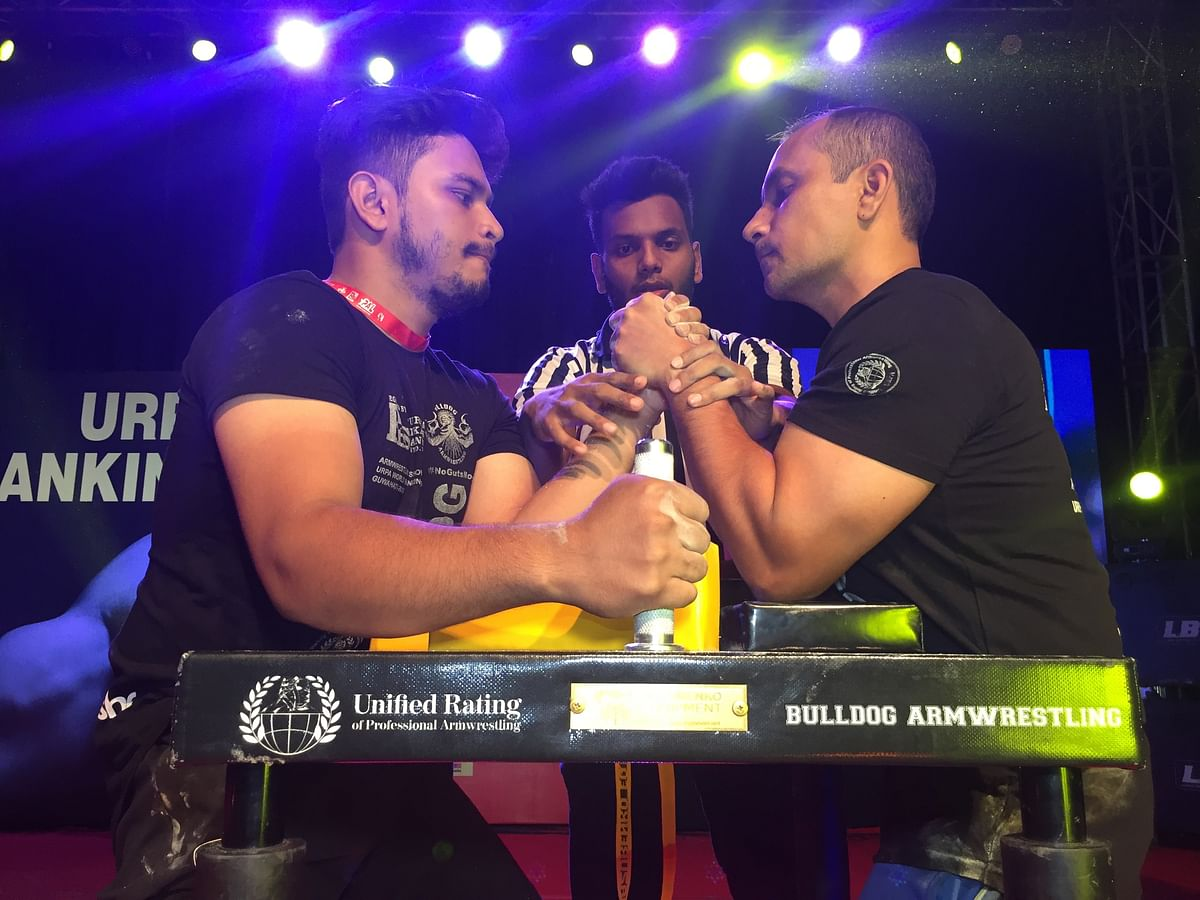 For the first time, Assam witnessed a professional armwrestling event of this level which saw participation from more than 150 international and national champions