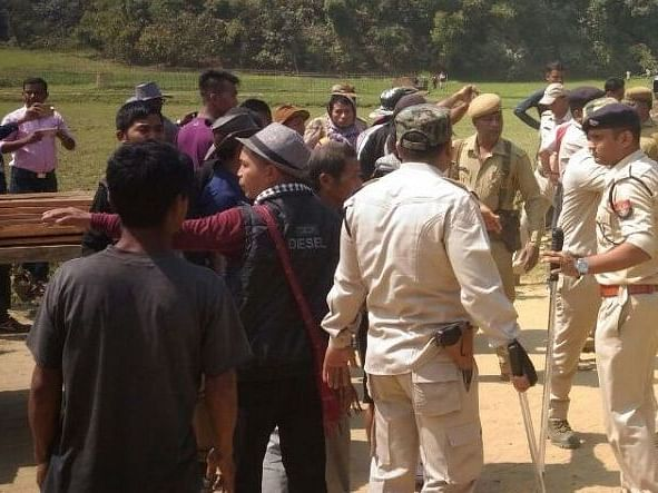 Assam-Mizoram border tense after death of an alleged drug peddler
