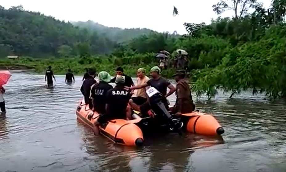 Assam: Karbi Anglong woman swept away by Difloo river, search on