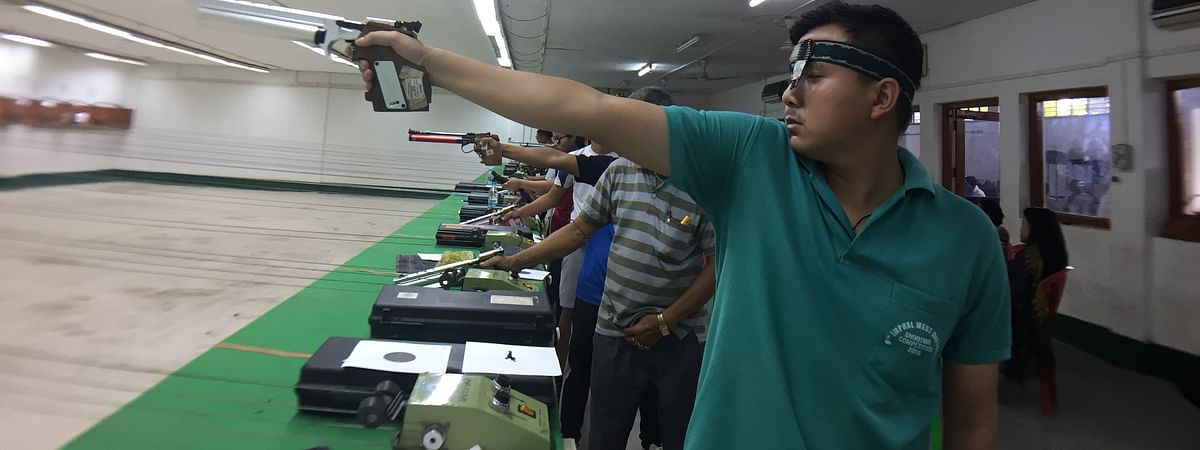 Young shooters from Manipur are vying for the top shot during the week-long event