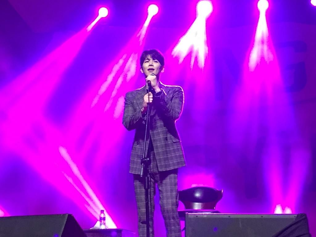 This was the first India tour of K-pop star Jang Hanbyul and Kohima was his last stop