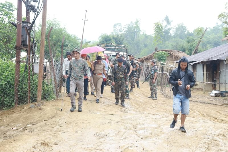 The repatriation was conducted under the supervision of Lawngtlai deputy commissioner Shashanka Ala, state police and Assam Rifles