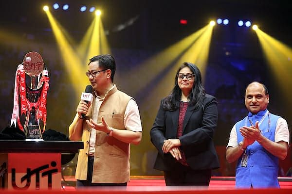 Speaking at the event, Union MoS for youth affairs and sports Kiren Rijiju lauded the efforts of the Table Tennis Federation of India