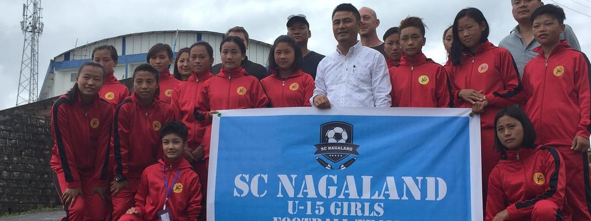The SC Nagaland U-15 girls' football team will participate at the Gothia Cup in Sweden from July 14-20