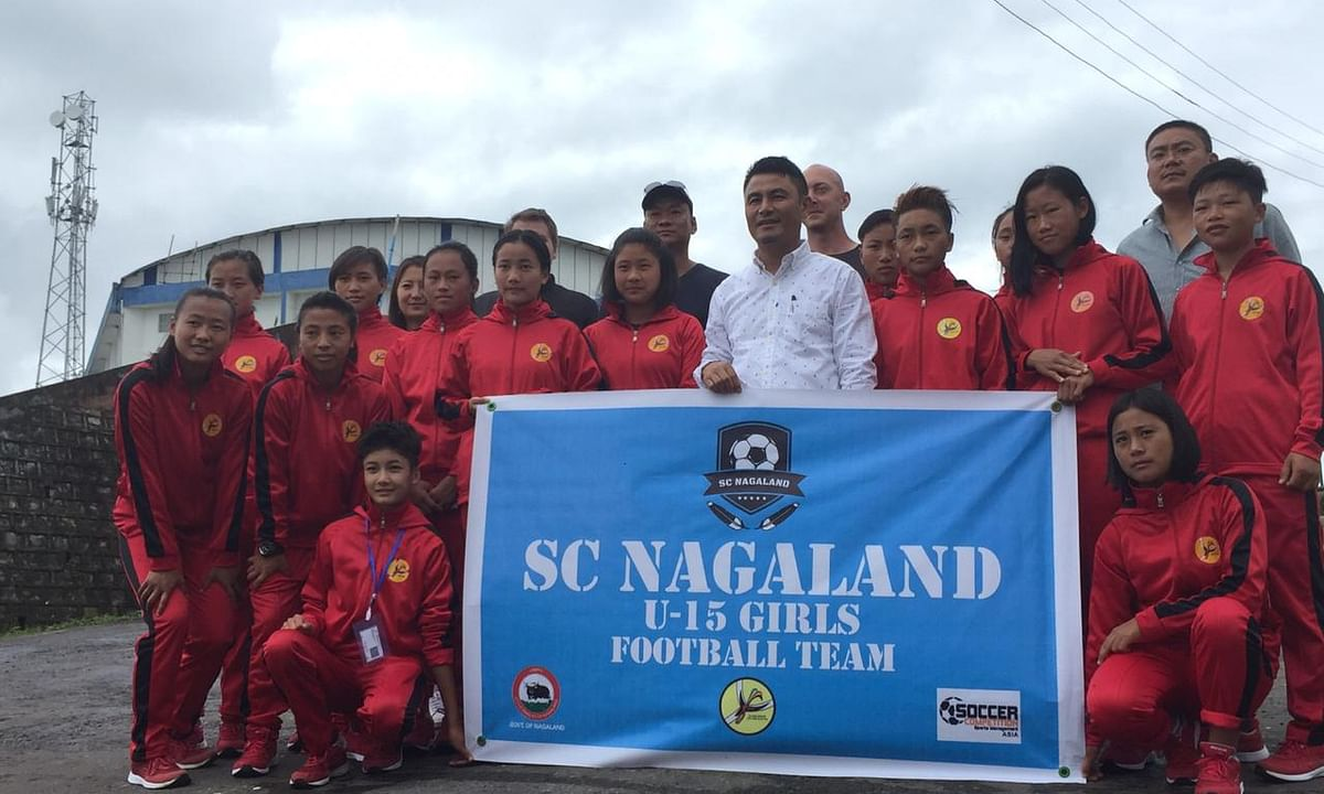 Gothia Cup: U-15 Nagaland girls' football team leaves for Sweden