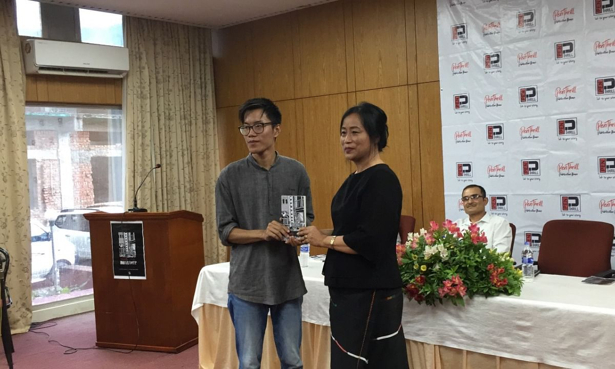 Nagaland: Civil engineering student releases first poetry book