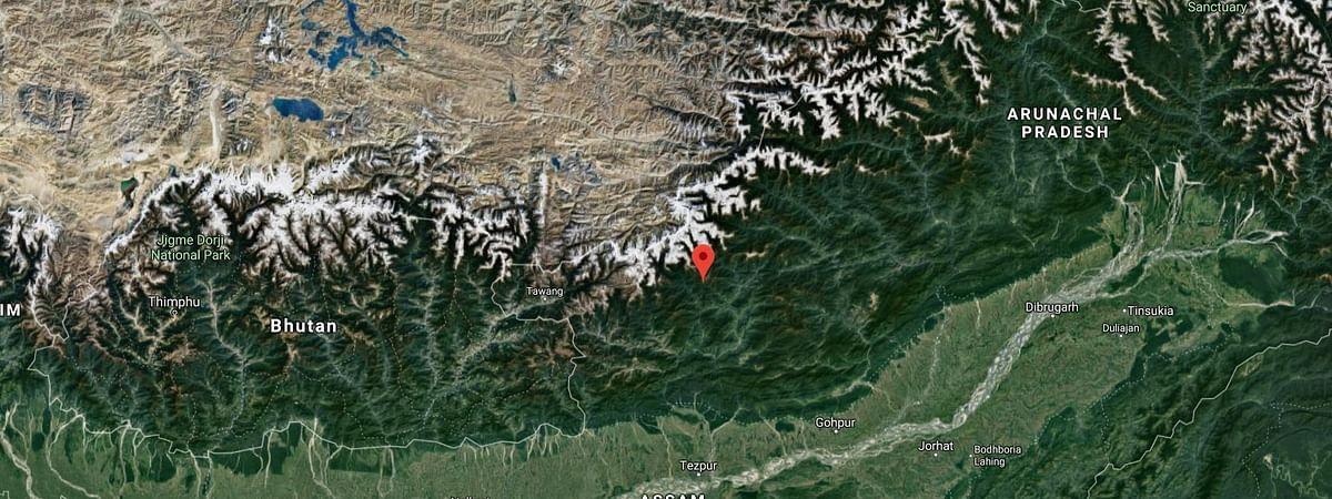 Epicenter of the first two earthquakes was said to be 45 km from Seppa, headquarters of East Kameng district in Arunachal Pradesh