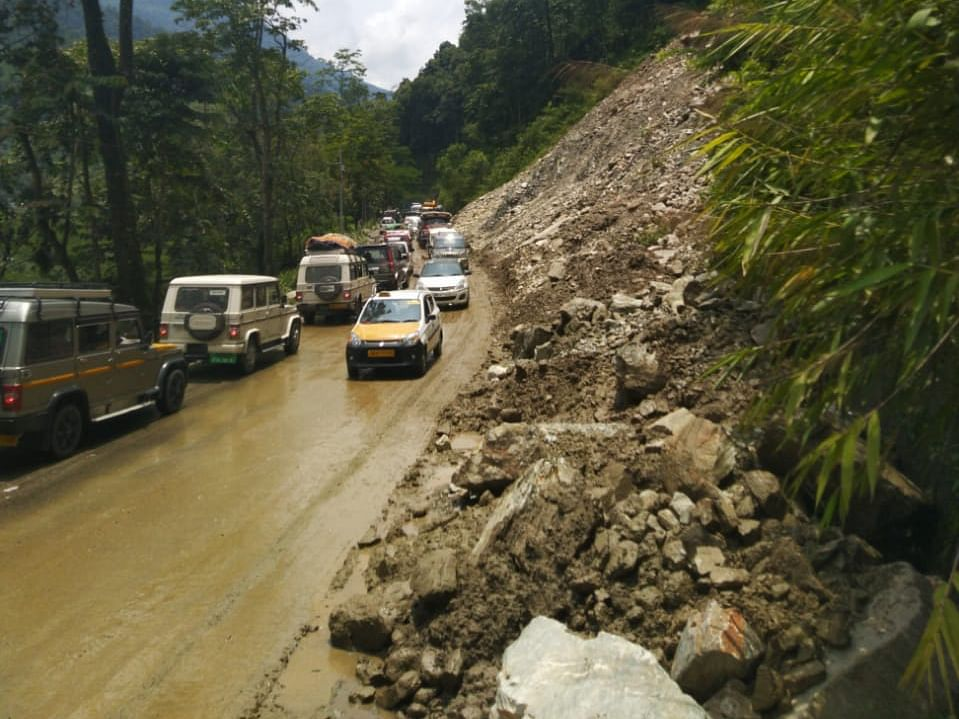 Landslides create havoc in Sikkim, IMD predicts heavy rainfall