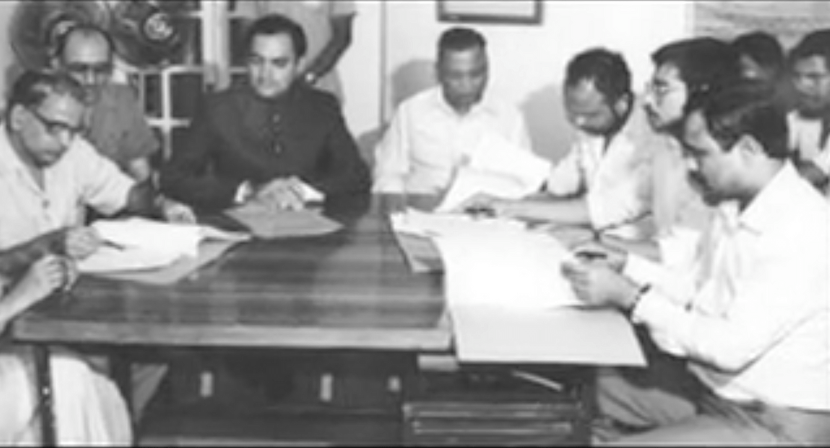 The historic Assam Accord was signed on August 15, 1985