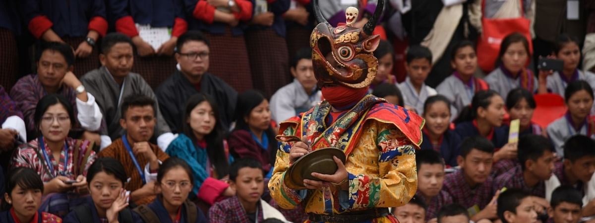 The festival attracts participants from across the globe