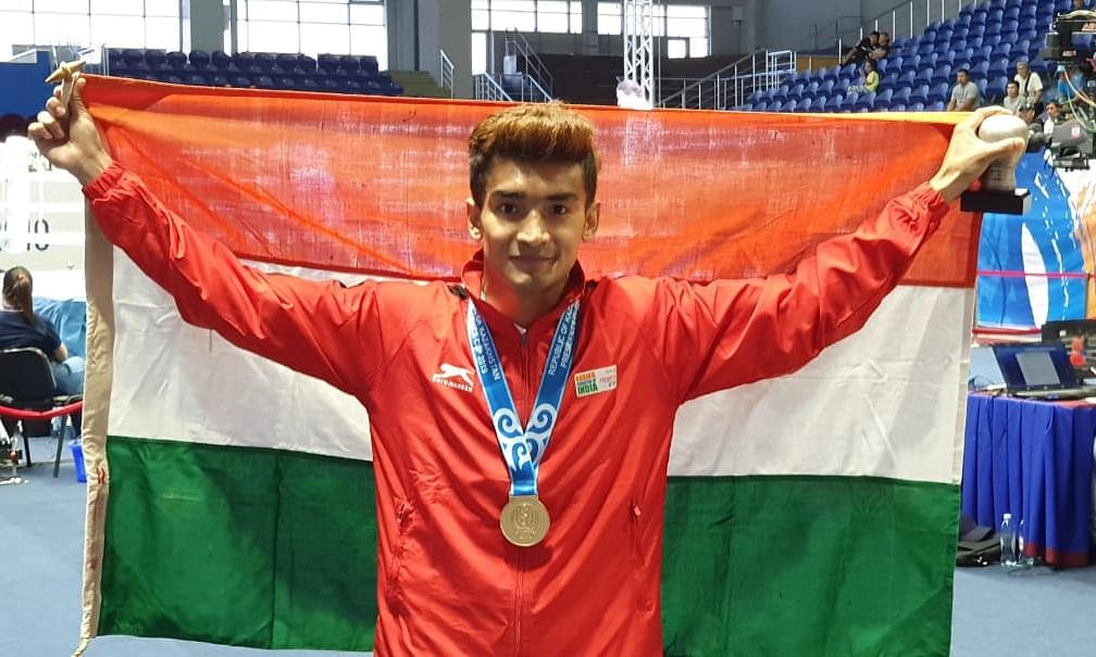 Assam boxer Shiva Thapa makes history, wins gold in Kazakhstan