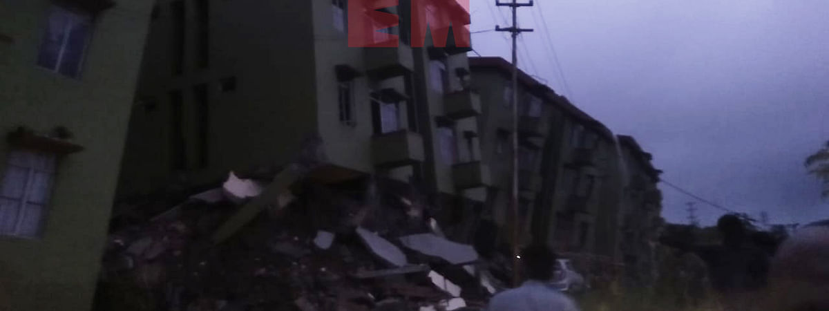 Mizoram: 3 buildings collapse due to landslide, 3 killed | LIVE
