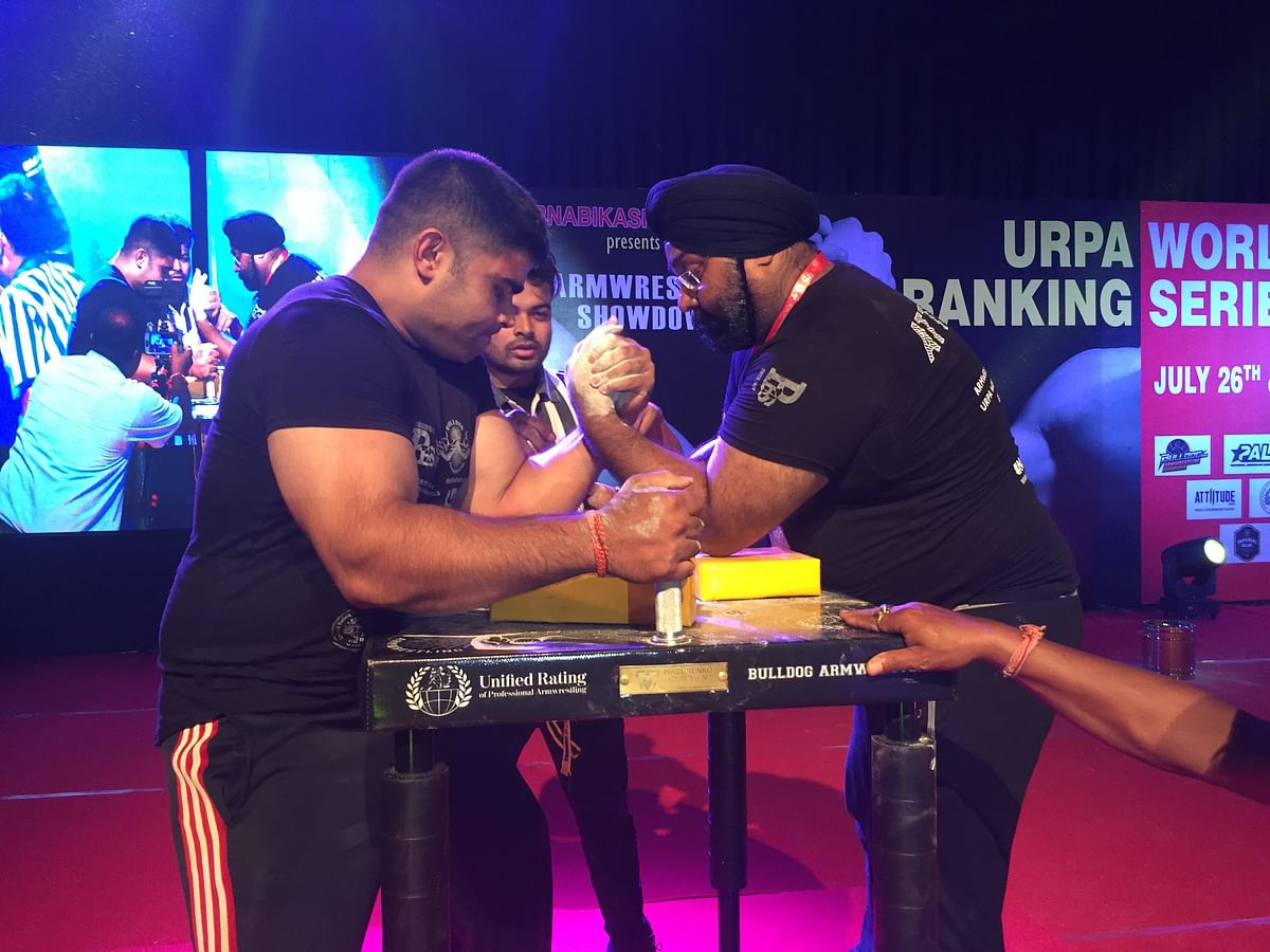 The URPA World Ranking Series 2019 was held in GMCH auditorium, Guwahati from July 26-27