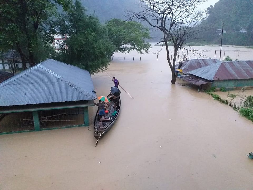 Landslides, flood: Cong asks Mizoram govt to sound high alert