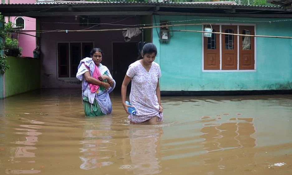 Second wave of Assam flood hits over 8 lakh villagers, 3 killed