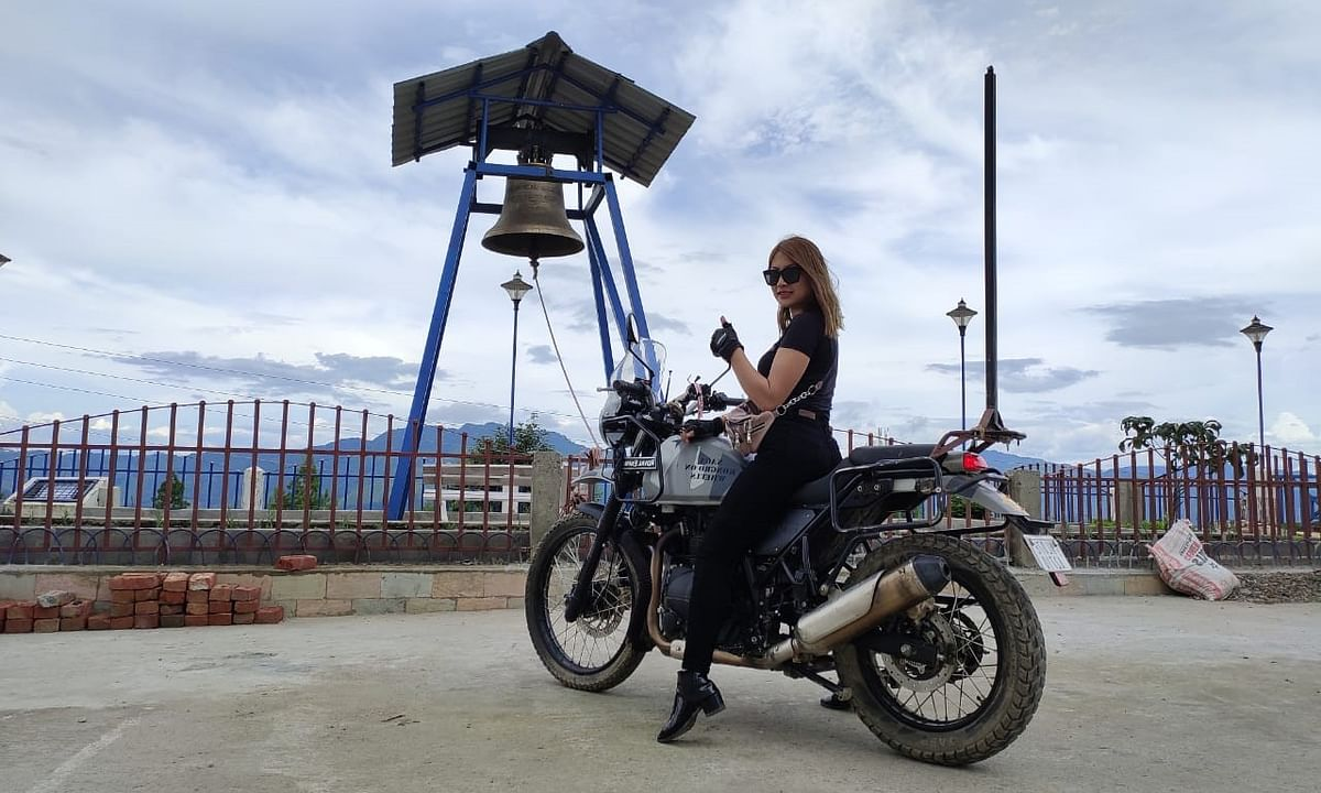 Hero's return: Naga woman biker Onen Nenty completes solo tour