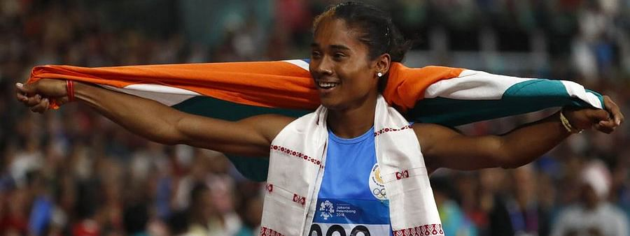 Ace athlete Hima Das