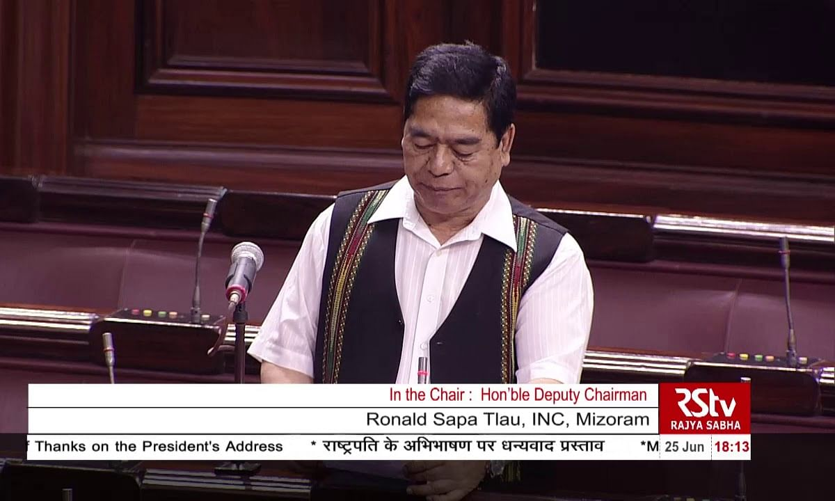 Citizenship Bill poses direct threat to NE: Mizoram MP Ronald Tlau