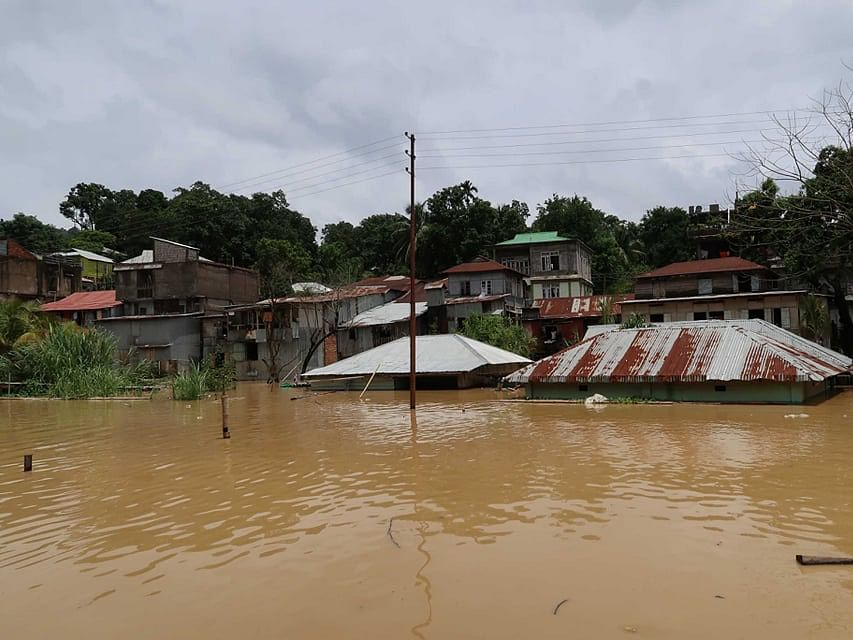 Mizoram: 3 killed, 500 families hit by landslides, floods