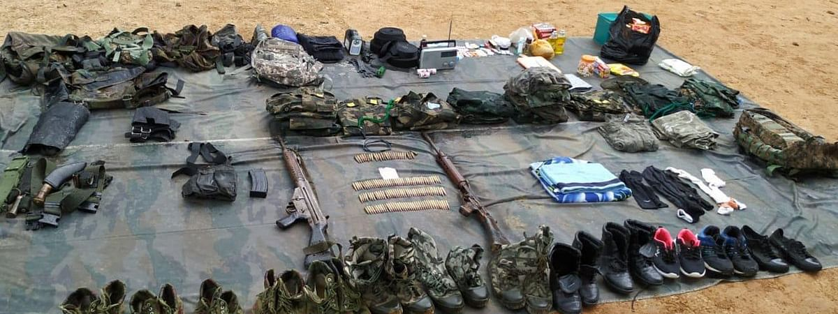 A huge cache of arms and ammunition was recovered from the undesignated camp of the insurgent outfit NSCN(IM) in Manipur's Tamenglong district on Friday night