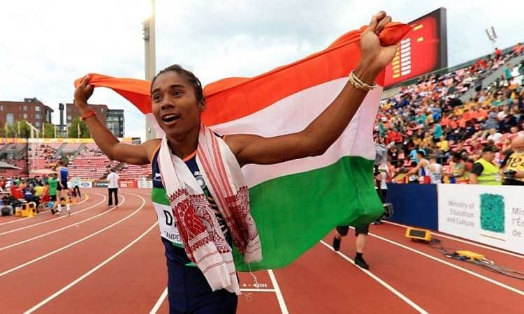 Assam sprinter Hima Das came in the news once again after she won four gold medals in 15 days