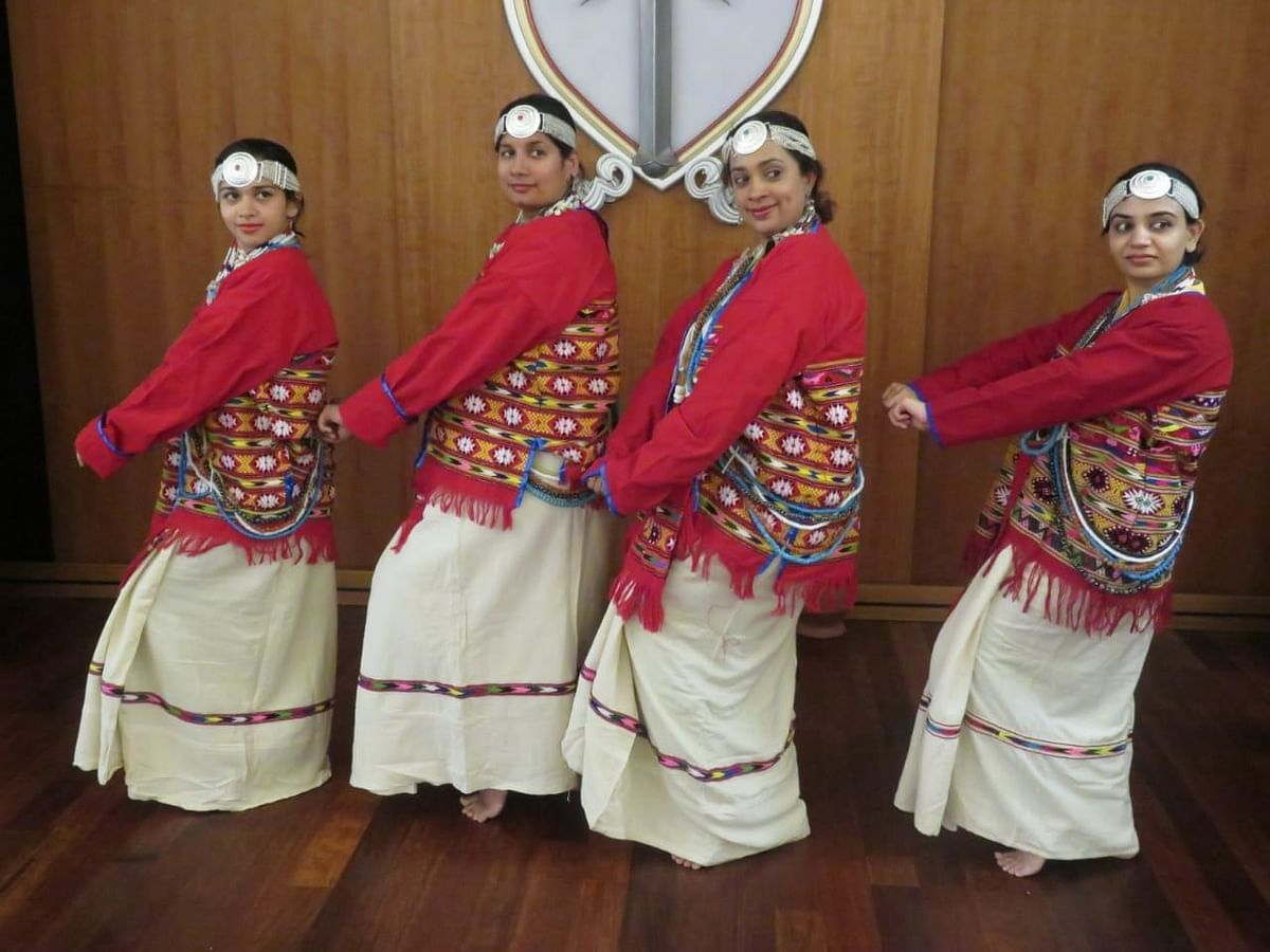 The two dance forms from NE will be performed at Nehru Centre, London on July 18
