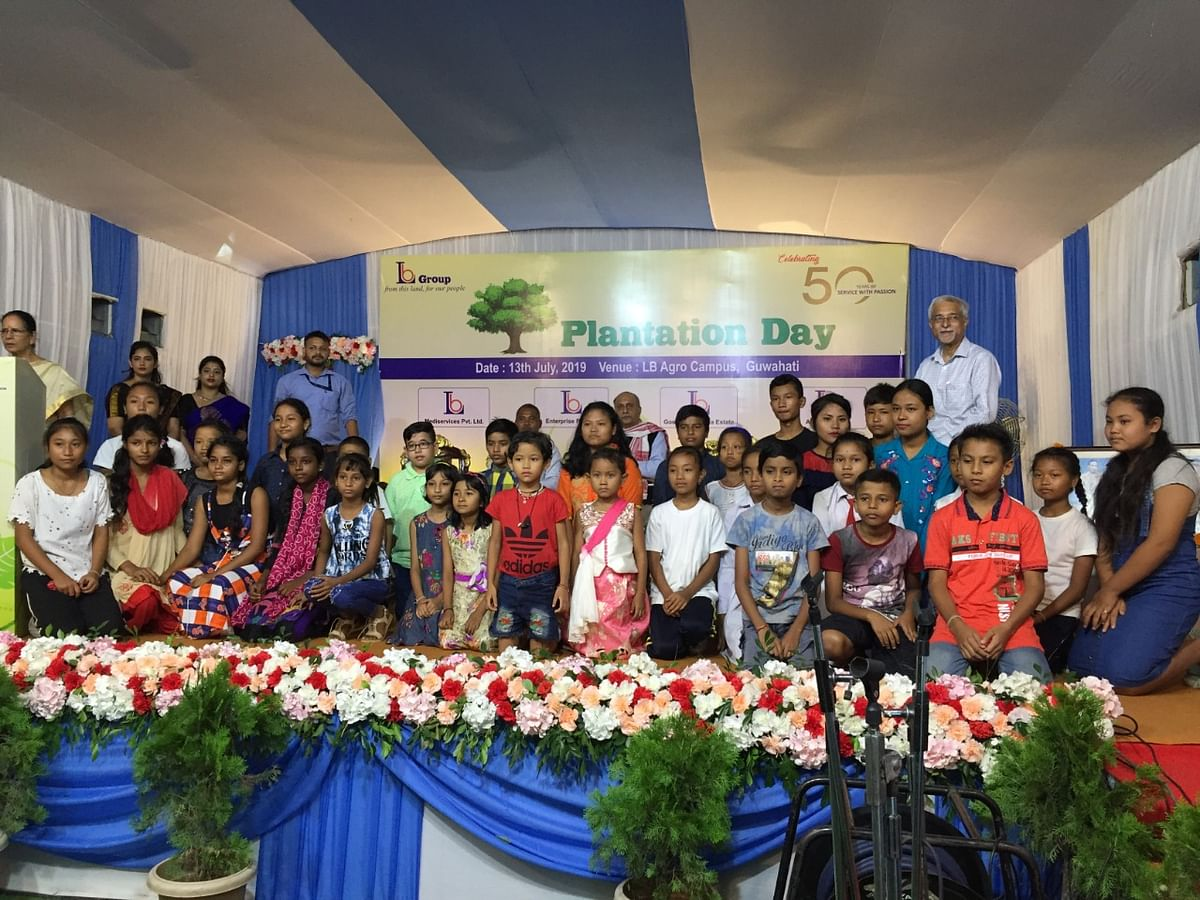 Assam: LB Group marks 50th anniversary with 'plantation day'