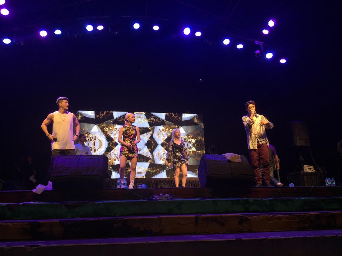 K-pop band KARD performed in Guwahati, Assam 'play your KARD tour' in India as they performed at Delhi on Friday and in Guwahati on Sunday