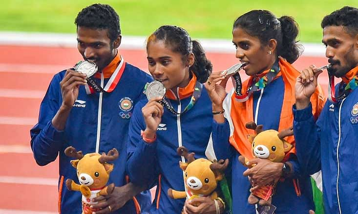 1 more gold for Hima? India's relay silver in Asiad to be upgraded