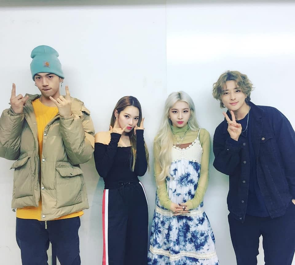 KARD is a South Korean pop group formed by DSP Media. They are composed of members J Seph, BM, Somin and Jiwoo