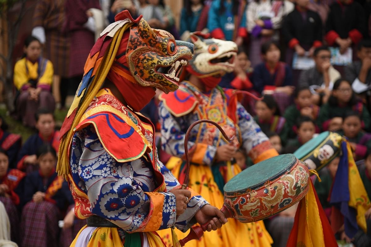 Visitors get to experience rich Bhutanese culture during the three-day festival