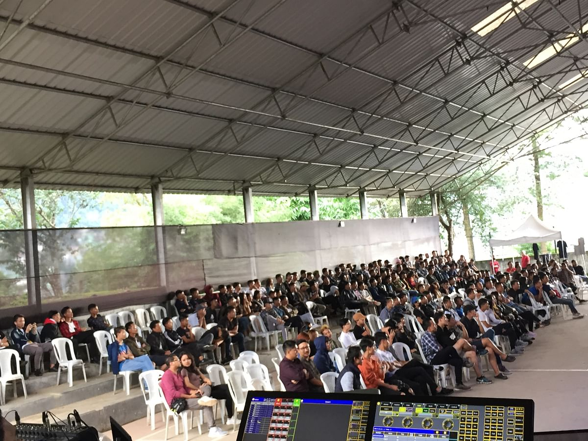 The sporting event was held in Kohima to create awareness on employment avenues through mobile gaming