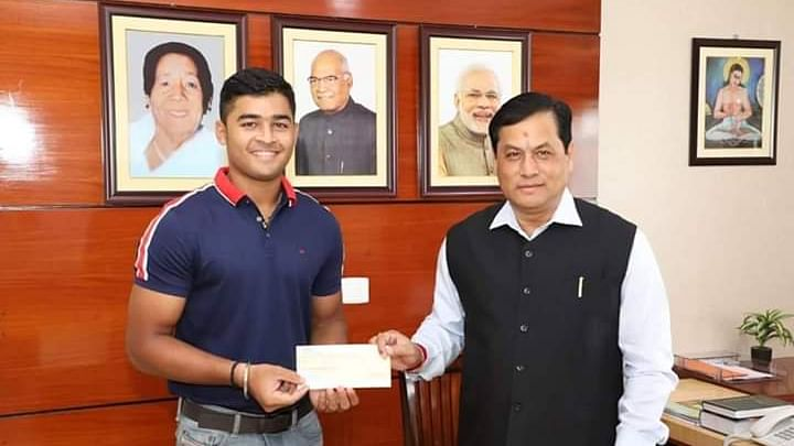 Assam floods: Cricketer Riyan Parag donates Rs 1 lakh for victims