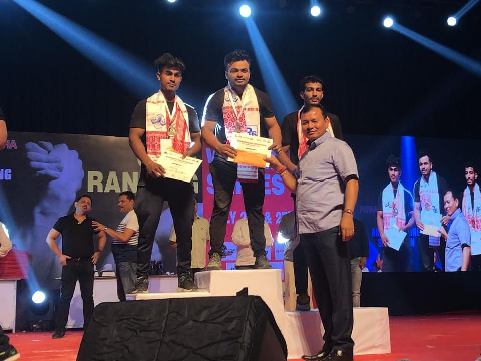 Assam lad to represent India in Armwrestling China Open in Sept