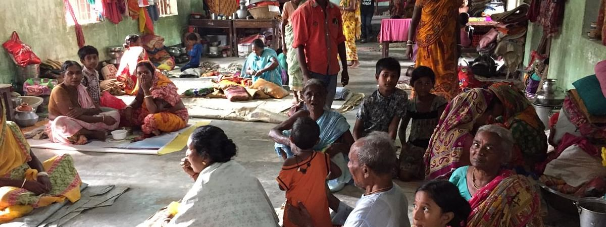 68 relief camps were set up across Tripura following heavy rainfall and floods in the past few days