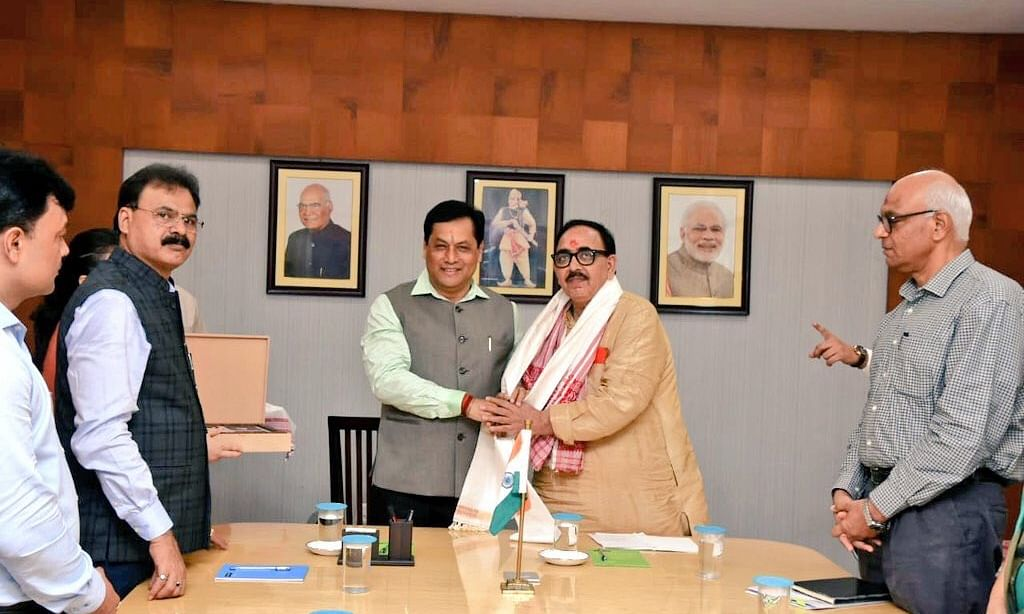 Union minister discusses skill development opportunities in Assam